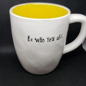Rae Dunn  BE WHO YOU ARE new mug